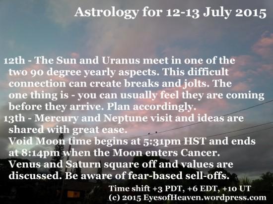 12-13 July