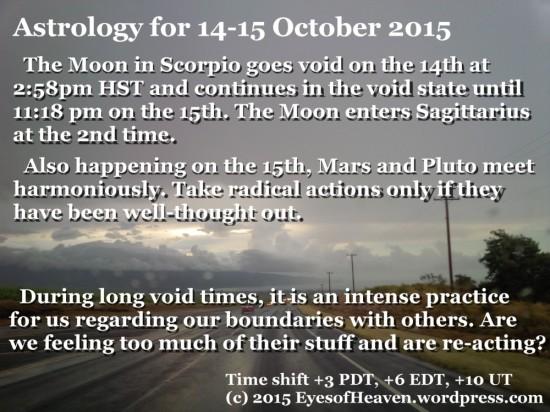 14-15 Oct
