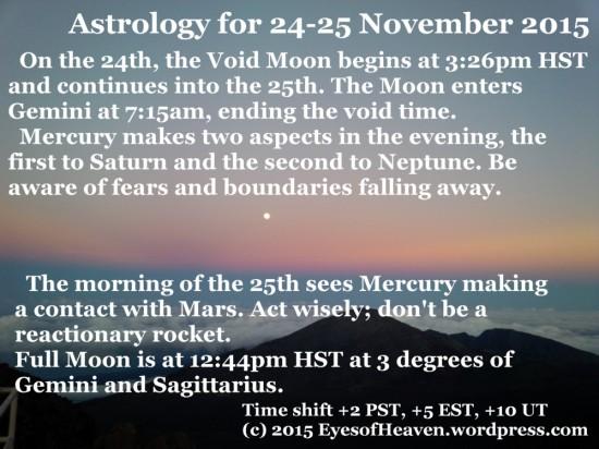 24-25 Nov