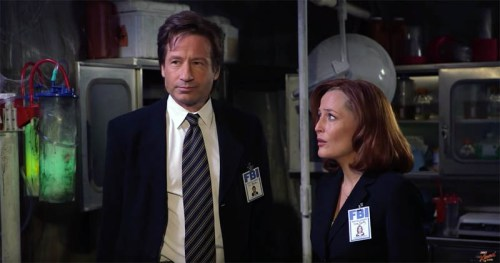 """A lighter side to Mulder and Scully on """"Jimmy Kimmel Live!"""" on ABC"""