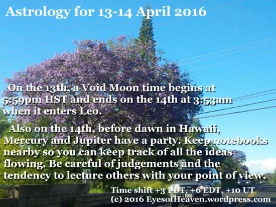 13-14 April