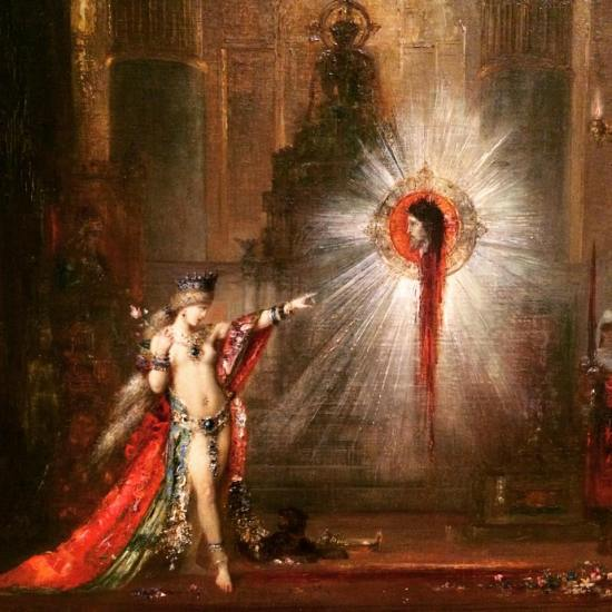 Gustave Moreau, The Apparition, c. 1876-77