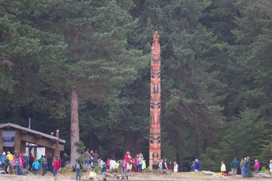 Haida Legacy Pole Raising 2013