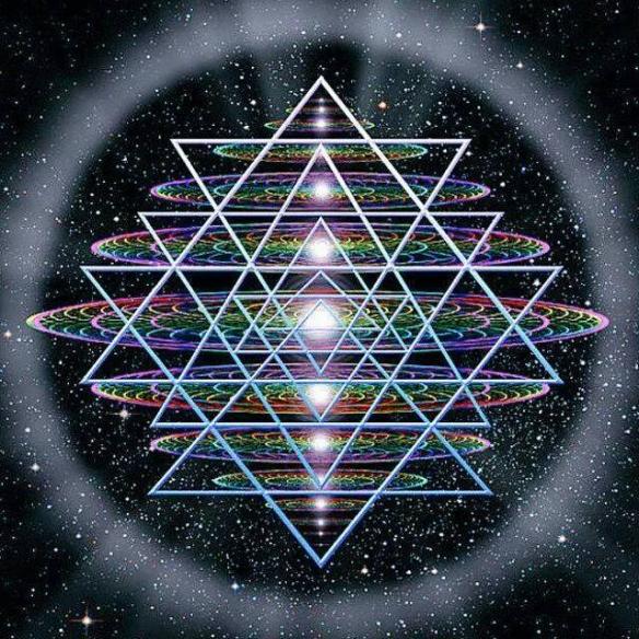 Sri Yantra cosmos