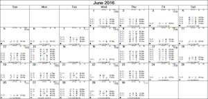 2016-06 Monthly Marsout