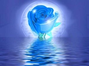 Blue Rose Full Moon Tara Greene