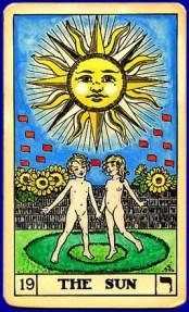 Sun Tarot Card, Tara Greene tarot card reader