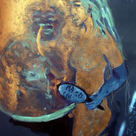 SUn inconjunct Neptune, art, Napoleon Brousseau