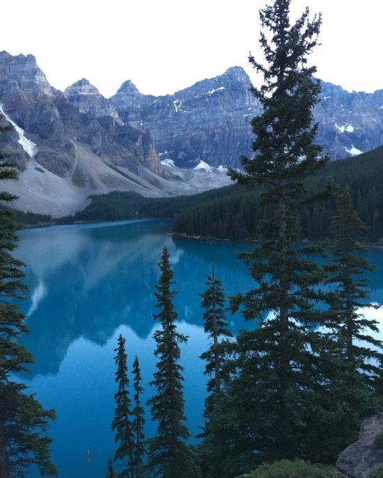 MORAINE lake, Banff, alberta, Canada taken by wise own carisa