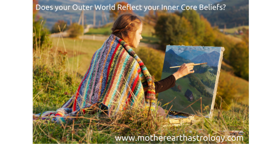 Painting Canvas Outer and Inner World - PAID