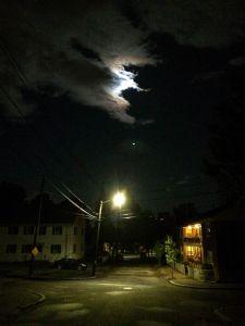 moon-and-street-light