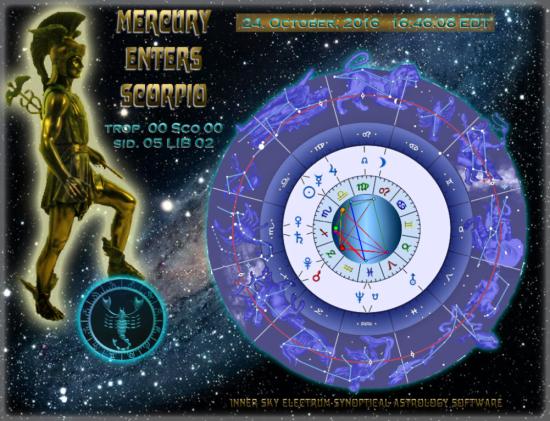 Mercury ingress Scorpio
