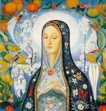 Virgo by Jospeh Stella 1926 Art Astrology