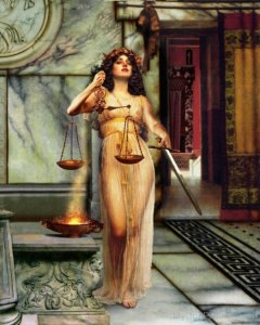 Justia (Themis Libra Maat Astrology