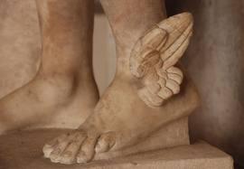 Mercury winged feet