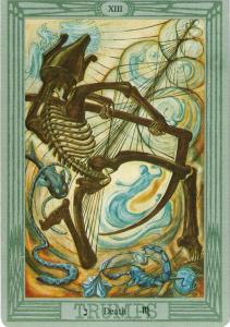 Tarot cards Death Tara Greene