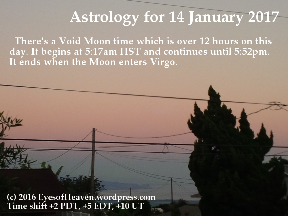 long void moon on the 14th