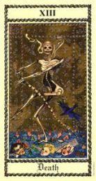 Death, Tarot card reading Tara Greene