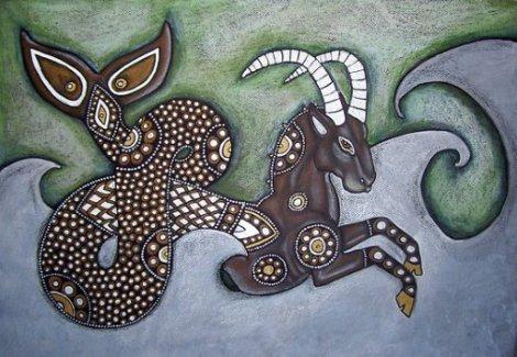 Capricorn, the sea goat