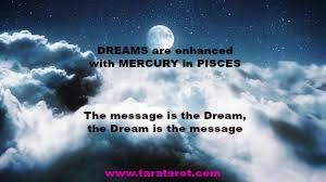 Lucid Dreams,Mercury in PIsces, Tara Greene astrology
