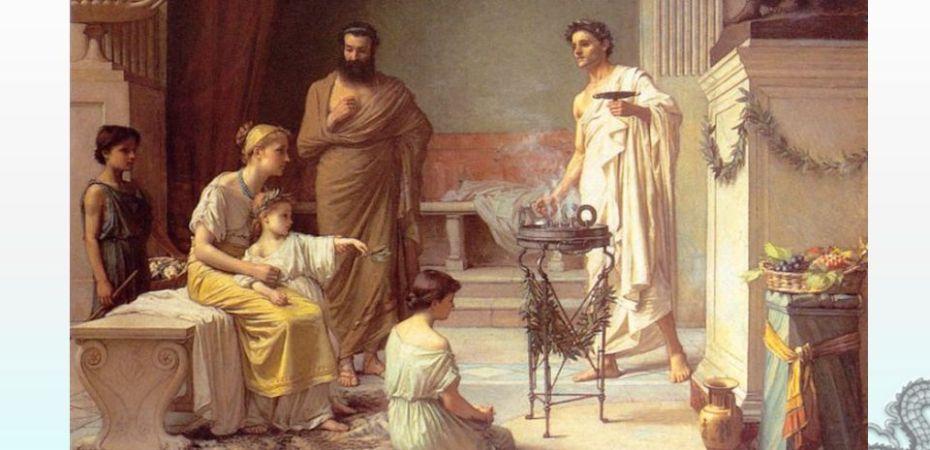 dream healing temple of Asclepius by John Waterhouse 1877