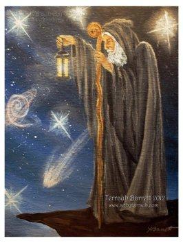 Hermit Tarot #9 Tara Greene