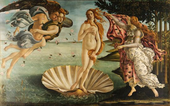 Venus Birth Botticelli
