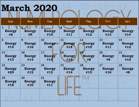 2020 MAR