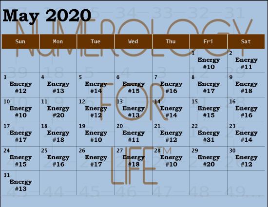 2020 MAY